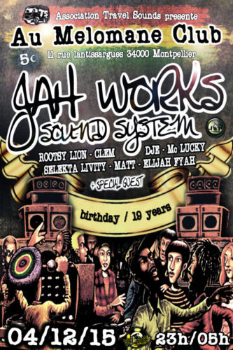 birthday JWP Sound 19 years